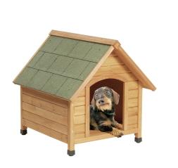 Къща за куче от дърво Класик на Karlie, размер S