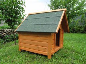 Къща за куче от дърво Класик на Karlie, размер XL