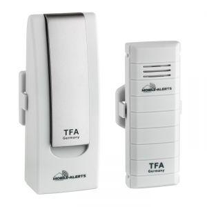 WEATHER HUB TFA - Система за дистанционен мониторинг на температура, влажност, разлив на вода, валежи и затворени врати и прозорци - Арт.№ 31.4001.02
