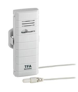 Предавател за температура с водоустойчив кабелен сензор, предназначен за система WEATHER HUB TFA/ Арт.№30.3301.02