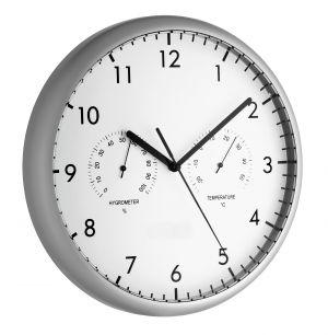 Стенен часовник с термометър и хидрометър / Арт.№ 98.1072