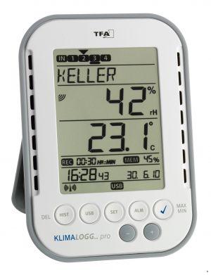 """Станция за отчитане на температура и влажност """"KLIMALOGG PRO"""" / Арт.№30.3039.IT"""