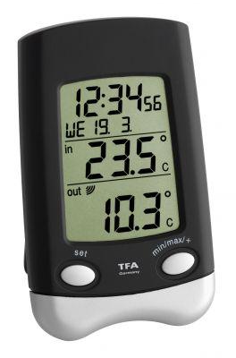 Безжична метеорологична станция в комплект с 1 предавател / Арт.№30.3016.01.IT